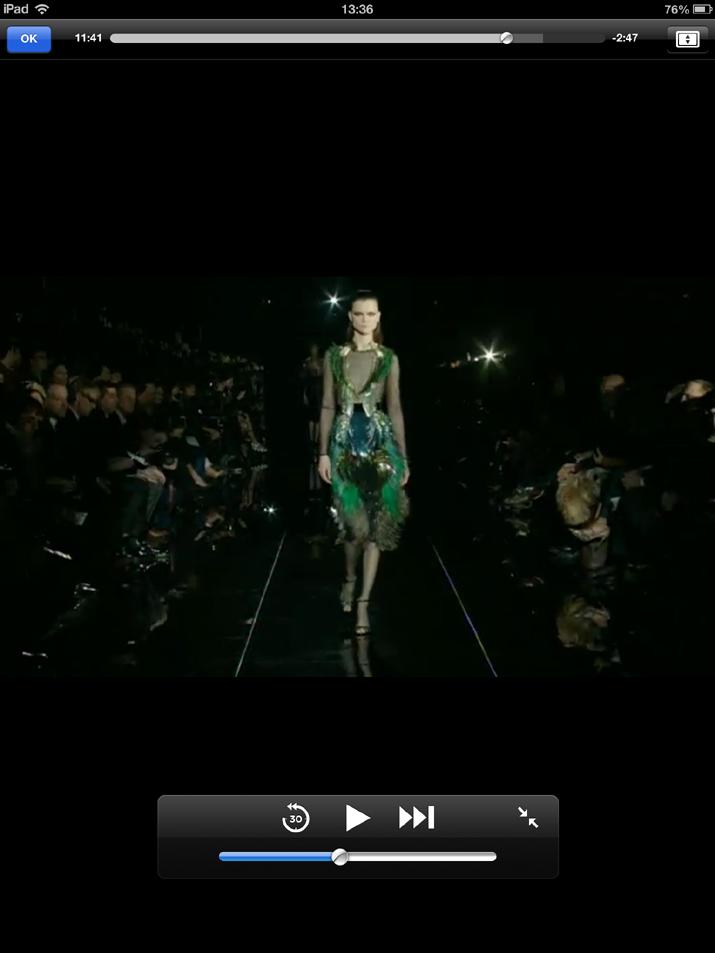 Gucci Fashion Show Milan FW2013-14