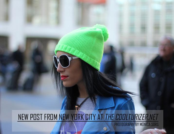 Streetstyle New York, The Coolturizer, streetstye blog, Mónica Sors