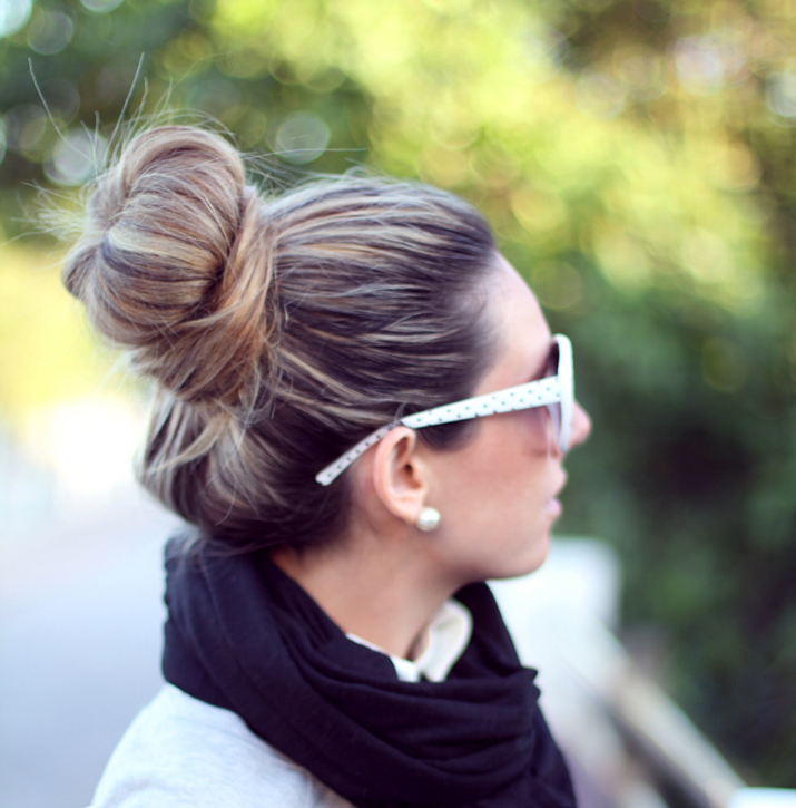 Hair bun Mónica Sors blog