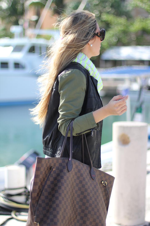Louis Vuitton Neverfull bag, Fashion blogger, Mónica Sors, Mes Voyages à Paris