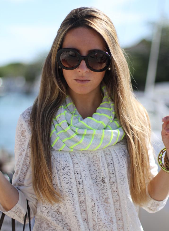 Mónica Sors, fashion blog, Mes Voyages à Paris, lace top