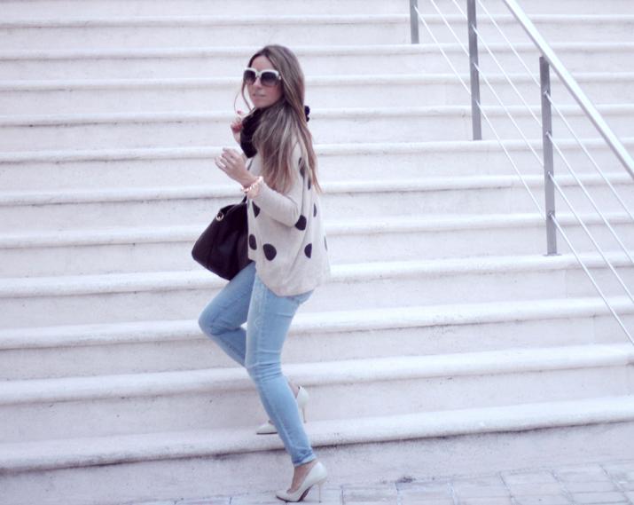 Jeans, Fashionblog, Fashionblogger, Mes Voyages à Paris, Mónica Sors, Fashion Salade