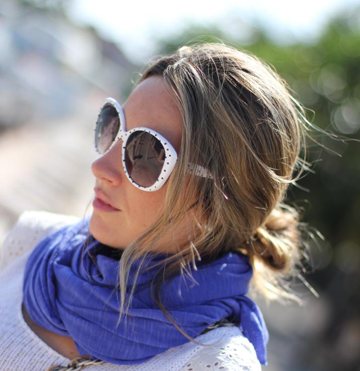 Mónica Sors, Royal blue touch, fashion accessories, fashion blogger,  Mes Voyages à Paris