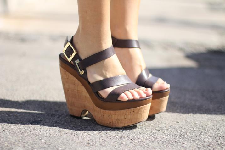 Rachel Zoe shoes, platform sandals, sandalias de plataforma