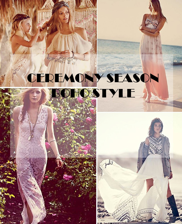 Vestidos novia bohemios, Ibiza, boho, boda, invitadas boda, ceremonia