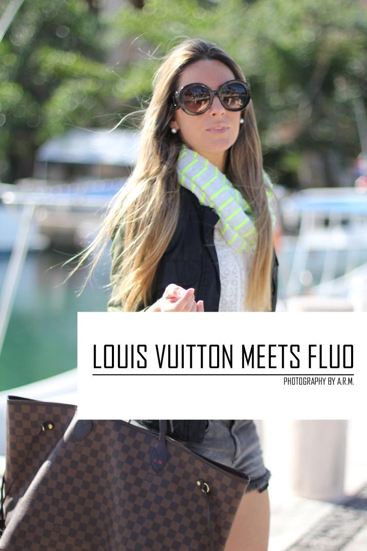 Louis Vuitton Neverfull bag, fashionblog, blogger, Mónica Sors, Mes Voyages à Paris