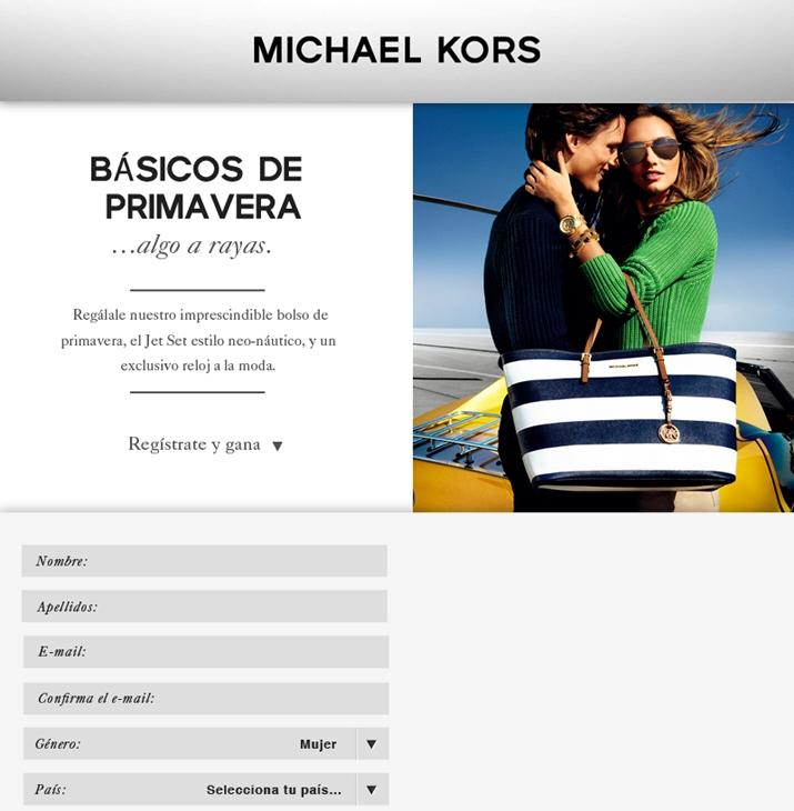 Michael Kors giveaway blog Mes Voyages à Paris