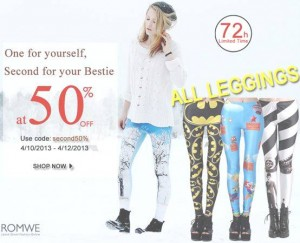 Romwe leggings