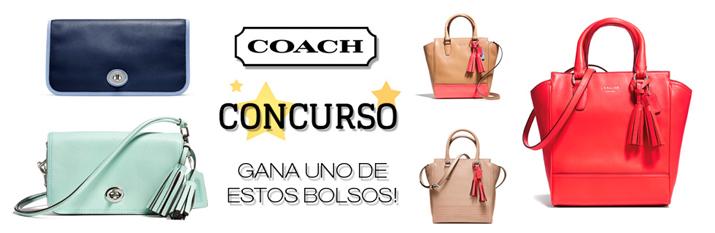 Sorteo bolsos Coach