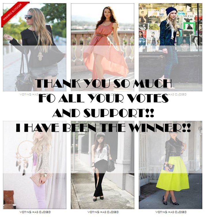 winning blogger Fashiolista contest, Mes Voyages à Paris
