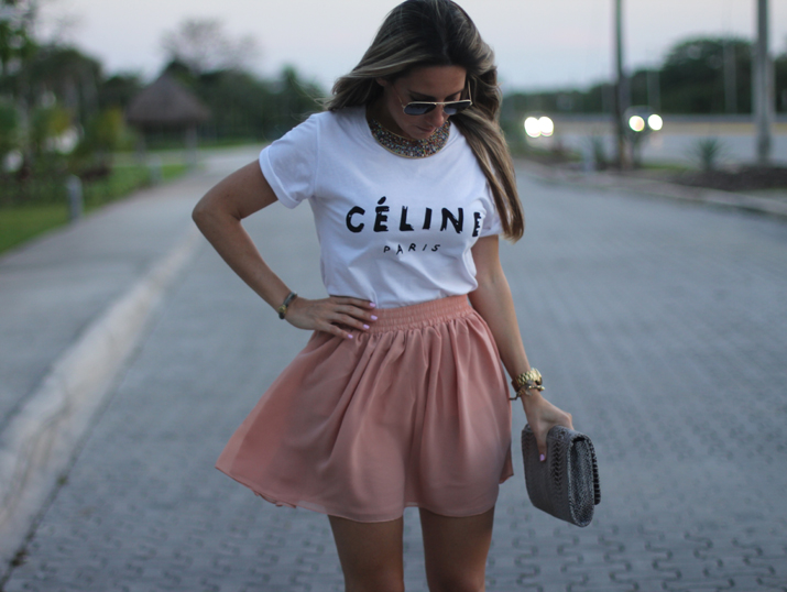 Celine tee fashion blogger Mónica Sors Mexico (1)