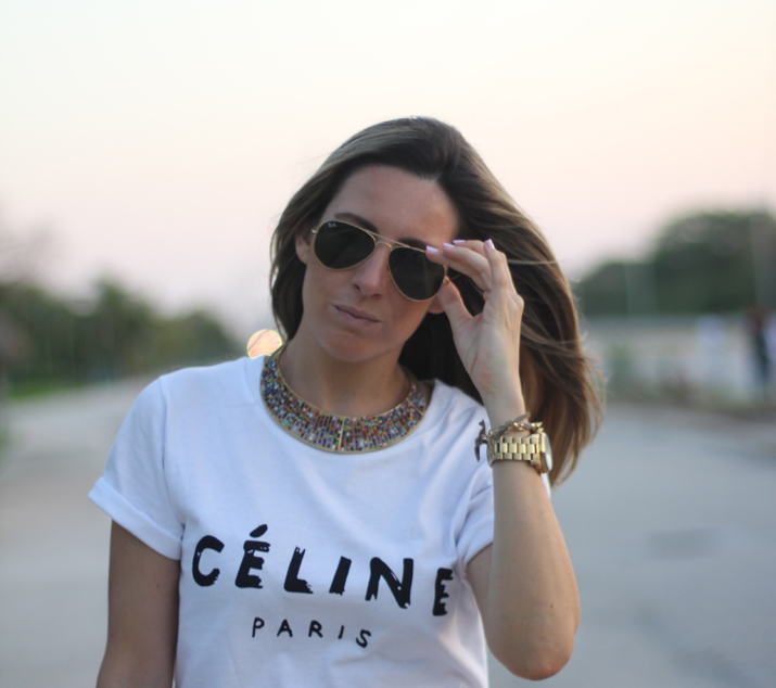 Celine tee fashion blogger Mónica Sors Mexico (2)