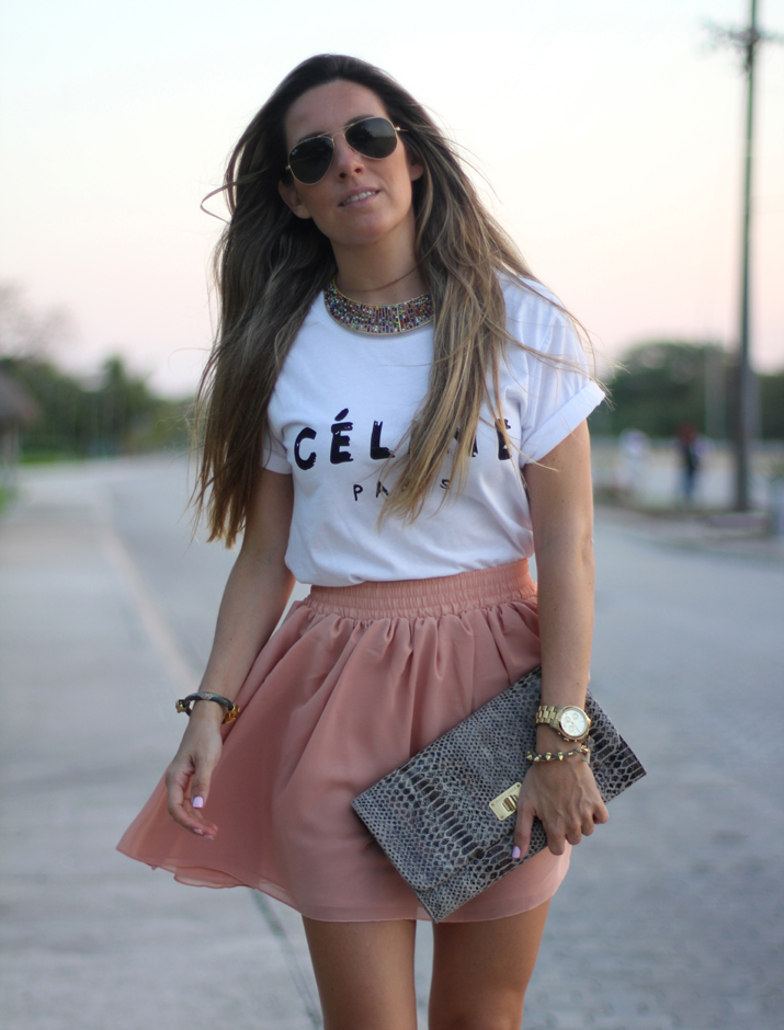 Celine tee fashion blogger Mónica Sors Mexico (4)