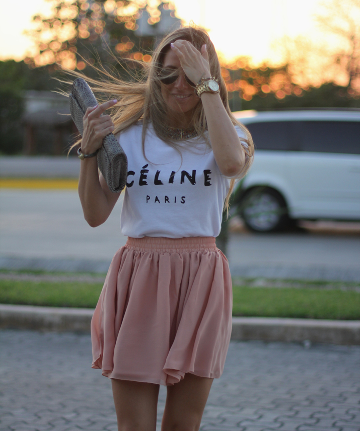 Celine tee fashion blogger Mónica Sors Mexico (8)