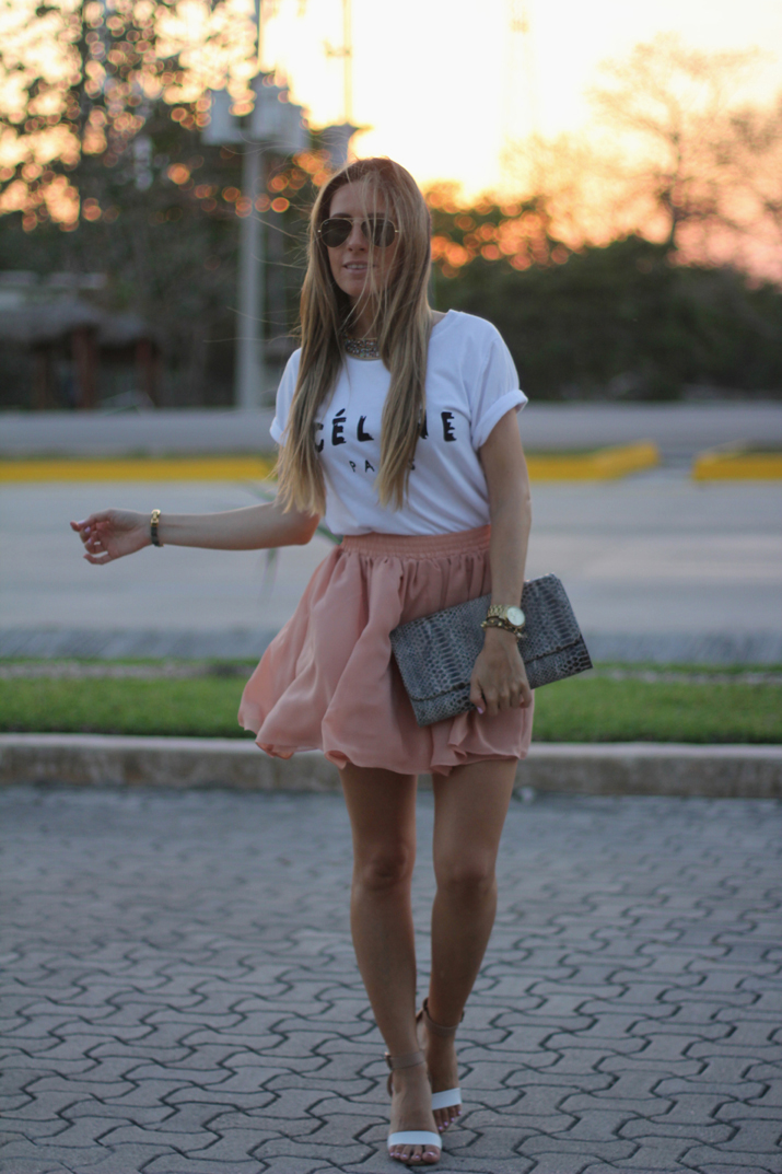 Celine tee fashion blogger Mónica Sors Mexico