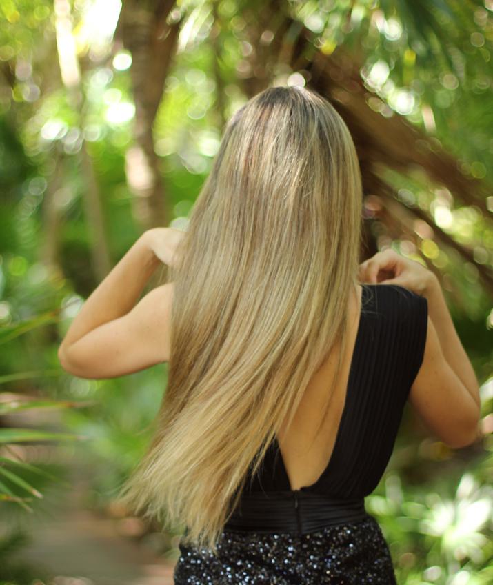 Mes Voyages à Paris hair. Blonde fashion blogger, Mexico, Cancun