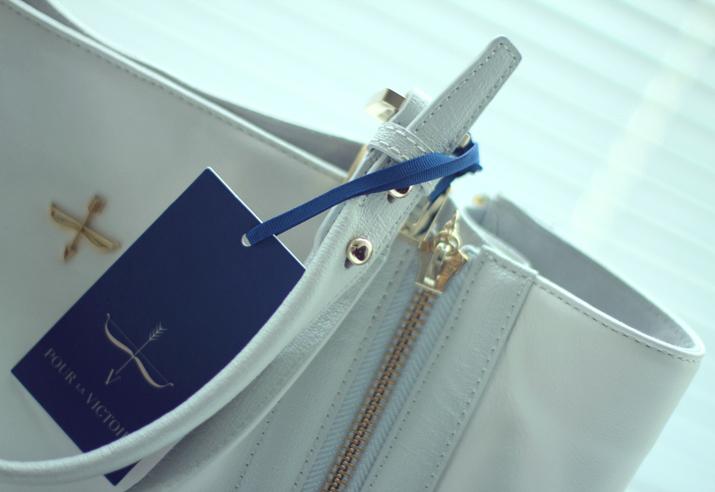 Pour la Victoire bag fashion blogger Mes Voyages à Paris (Mónica Sors)