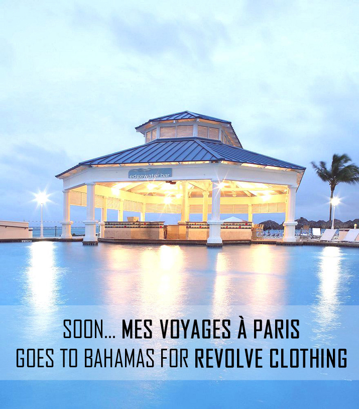Mes Voyages à Paris goes to Bahamas