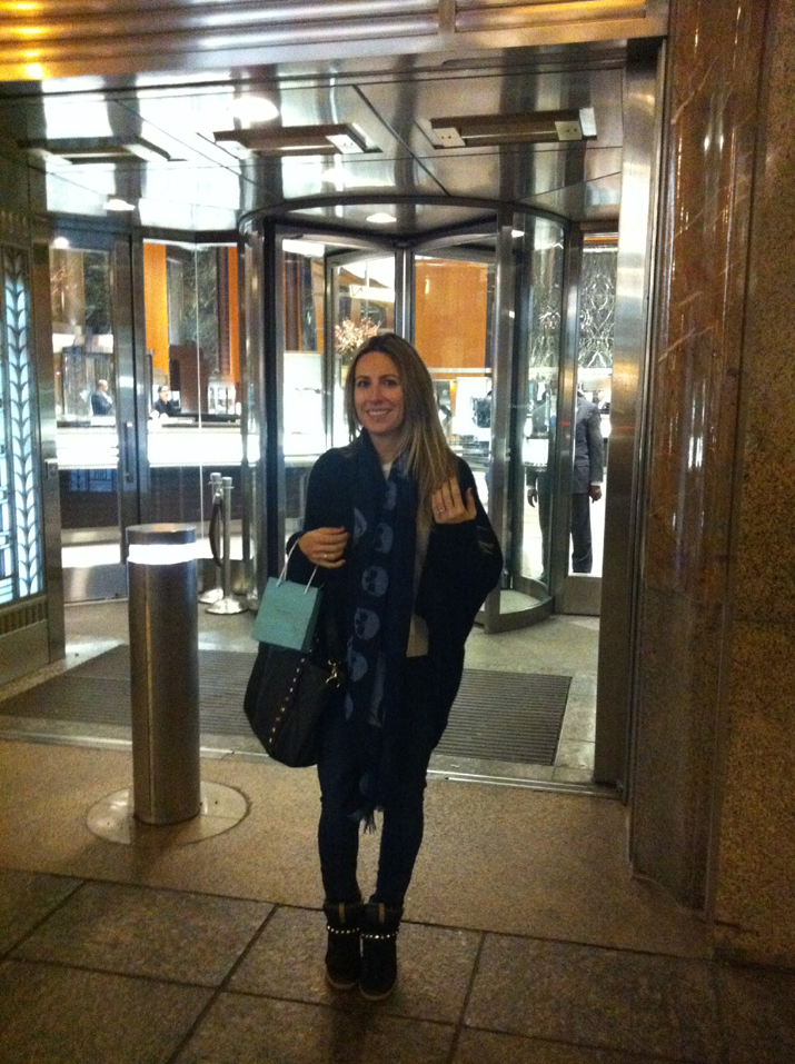 Tienda Tiffany Nueva York de la película Desayuno con Diamantes