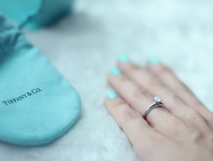 Tiffany engagement ring Mónica Sors blog