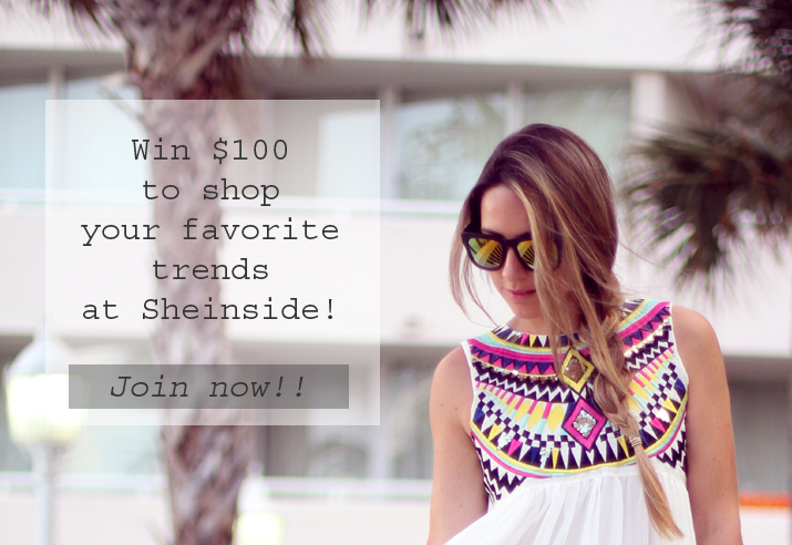 MES VOYAGES À PARIS & SHEINSIDE WORLDWIDE FASHION TRENDS GIVEAWAY!