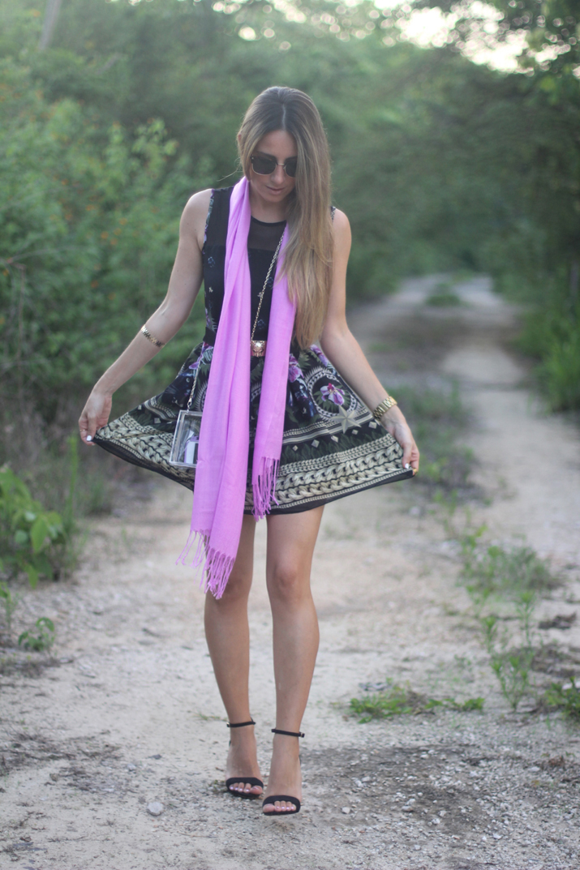 Look romántico bloguera de moda