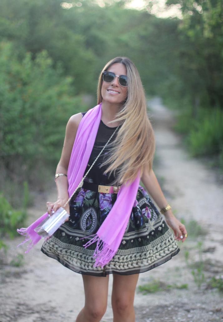 Look romántico fashion blogger