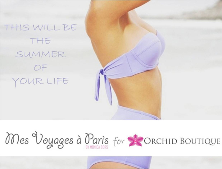 Swimsuits 2013 for women. Fashion blog Mes Voyages à Paris for Orchid Boutique