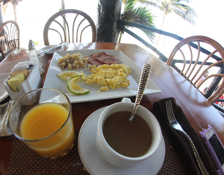 Caribbean breakfast
