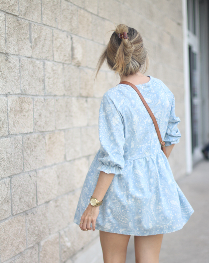 Summer dress fashion blogger
