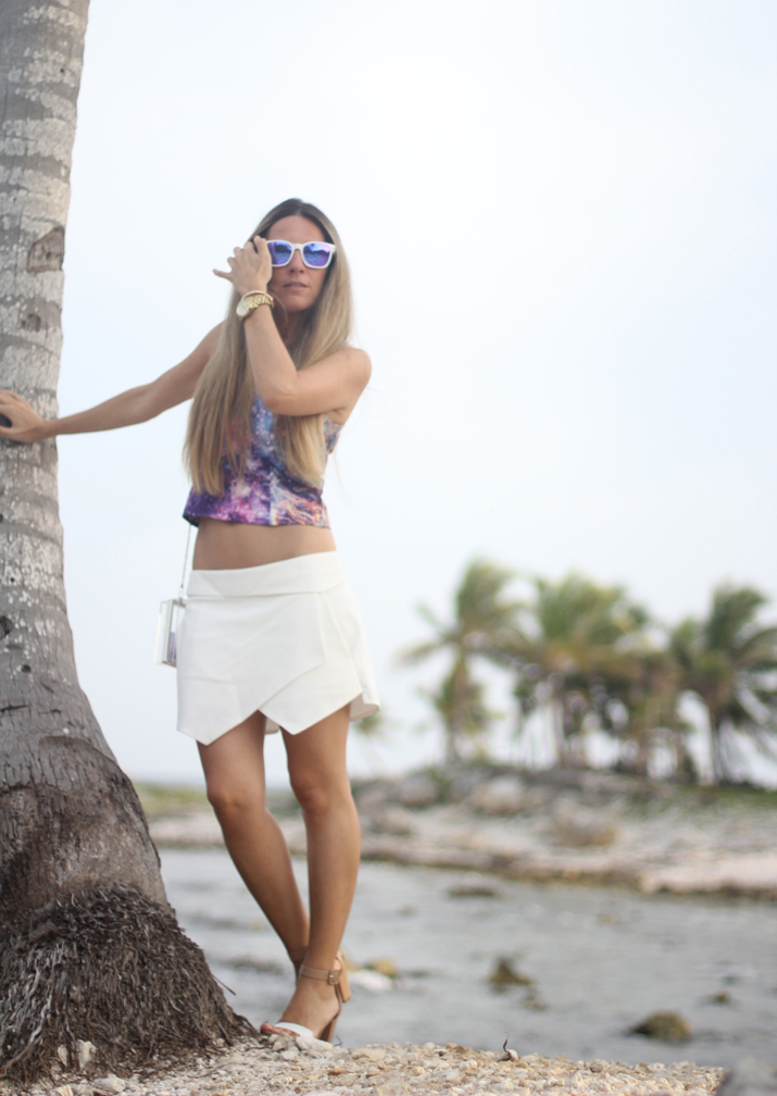 White skort outfit fashion blogger Mónica Sors (3)