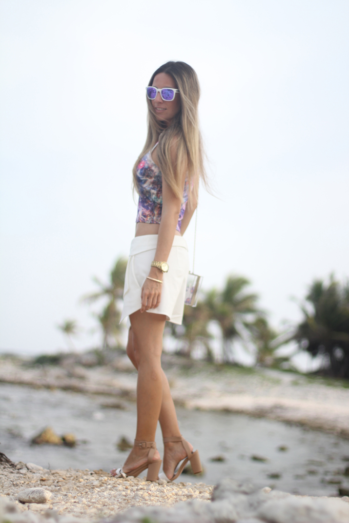 White skort outfit fashion blogger Mónica Sors (4)