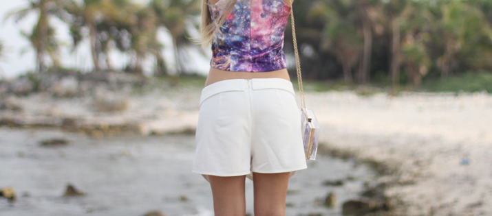 White skort outfit fashion blogger Mónica Sors (5)