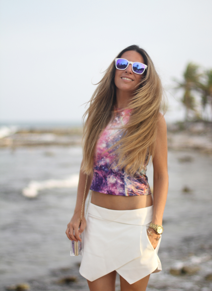 White skort outfit fashion blogger Mónica Sors (7)