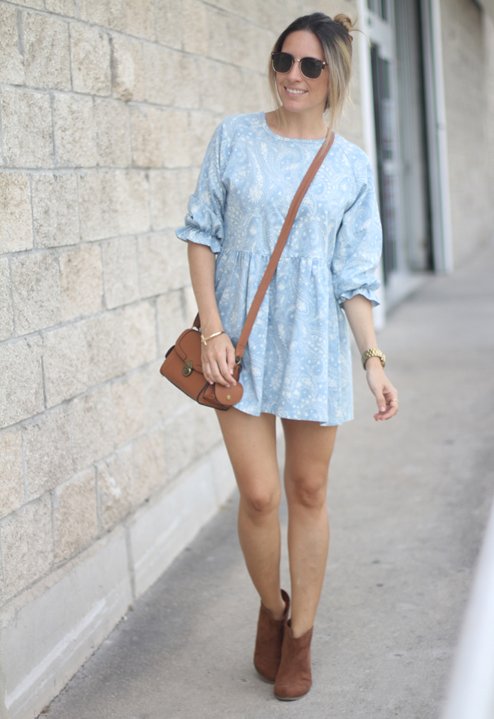 cowboy summer boots with dress fashion blogger (3)