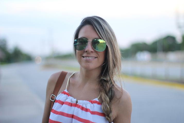 Lateral braid fashion blogger